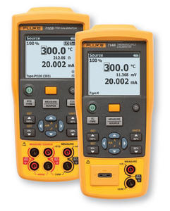 Fluke 712B and 714B Temperature Calibrators
