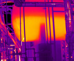 Thermal Image - Boiler