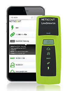 Netscout LinkSprinter Network Tester