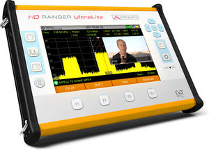 Promax HD Ranger UltraLite : The Tablet-sized Field Strength Meter