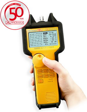 Promax-10 SE Cable TV QAM Analyser