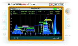 2.4 GHz WiFi Analyser
