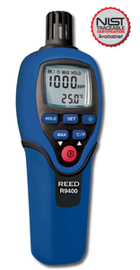 Reed R9400 Carbon Monoxide Meter with Temperature